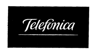 mark for TELEFONICA, trademark #75638601
