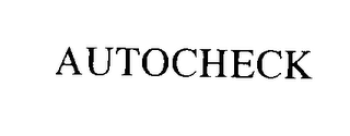 mark for AUTOCHECK, trademark #75645272