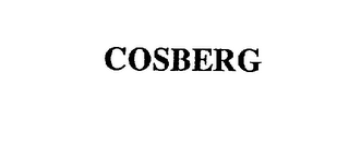 mark for COSBERG, trademark #75646769