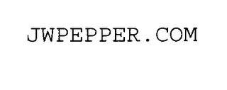 mark for JWPEPPER.COM, trademark #75651724