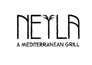 mark for NEYLA A MEDITERRANEAN GRILL, trademark #75657091