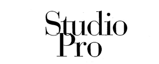 mark for STUDIO PRO, trademark #75659951