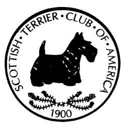 mark for SCOTTISH TERRIER CLUB OF AMERICA 1900, trademark #75660225
