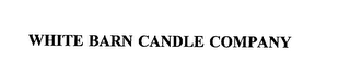 mark for WHITE BARN CANDLE COMPANY, trademark #75662247