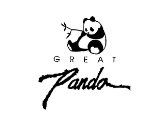 mark for GREAT PANDA, trademark #75662627