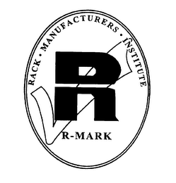 mark for R R-MARK RACK MANUFACTURERS INSTITUTE, trademark #75662732