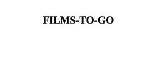 mark for FILMS-TO-GO, trademark #75663080