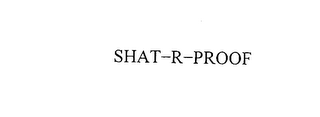 mark for SHAT-R-PROOF, trademark #75663213