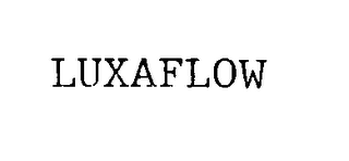 mark for LUXAFLOW, trademark #75664524