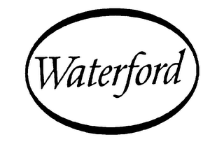mark for WATERFORD, trademark #75666263