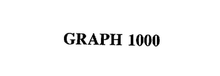 mark for GRAPH 1000, trademark #75671941