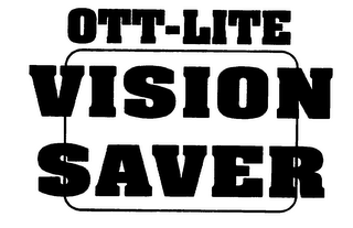 mark for OTT-LITE VISION SAVER, trademark #75672661