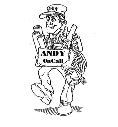 mark for ANDY ANDY ONCALL, trademark #75673847