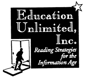 mark for EDUCATION UNLIMITED, INC. READING STRATEGIES FOR THE INFORMATION AGE, trademark #75674643