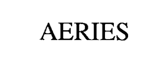 mark for AERIES, trademark #75689552