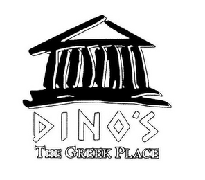 mark for DINO'S GYRO'S THE GREEK PLACE, trademark #75691167