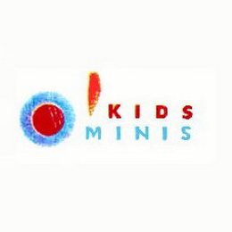 mark for KIDS MINIS, trademark #75697366