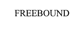 mark for FREEBOUND, trademark #75704509
