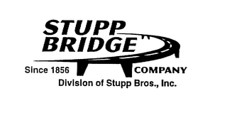 mark for STUPP BRIDGE SINCE 1856 COMPANY DIVISION OF STUPP BROS., INC., trademark #75718665