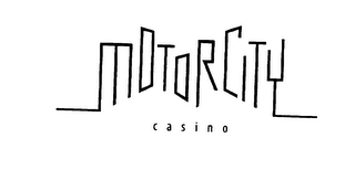 mark for MOTORCITY CASINO, trademark #75727747