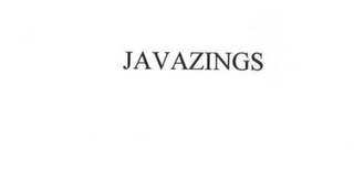 mark for JAVAZINGS, trademark #75731001