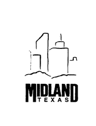 mark for MIDLAND TEXAS, trademark #75731425