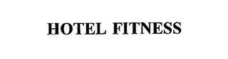 mark for HOTEL FITNESS, trademark #75731909