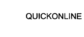 mark for QUICK ONLINE, trademark #75733848