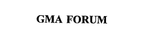 mark for GMA FORUM, trademark #75739301