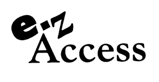 mark for E-Z ACCESS, trademark #75753491