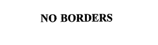 mark for NO BORDERS, trademark #75759185