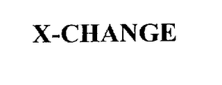 mark for X-CHANGE, trademark #75759215