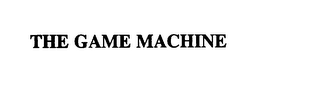 mark for THE GAME MACHINE, trademark #75760958