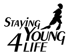 mark for STAYING YOUNG 4 LIFE, trademark #75763153