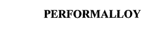 mark for PERFORMALLOY, trademark #75766655