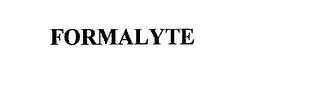mark for FORMALYTE, trademark #75766804