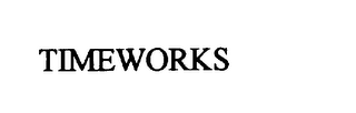 mark for TIMEWORKS, trademark #75769932