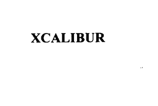 mark for XCALIBUR, trademark #75771688