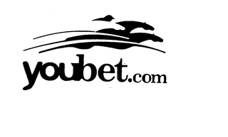 mark for YOUBET.COM, trademark #75774974