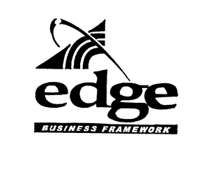 mark for EDGE BUSINESS FRAMEWORK (PLUS DESIGN), trademark #75777188