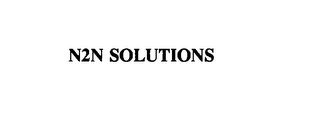 mark for N2N SOLUTIONS, trademark #75778349