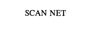 mark for SCAN NET, trademark #75778874