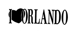 mark for I ORLANDO, trademark #75781304
