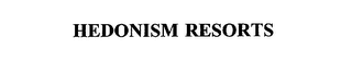 mark for HEDONISM RESORTS, trademark #75790742