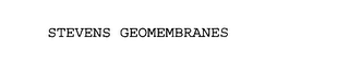mark for STEVENS GEOMEMBRANES, trademark #75791017
