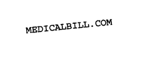 mark for MEDICALBILL.COM, trademark #75791937