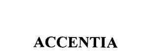mark for ACCENTIA, trademark #75793215