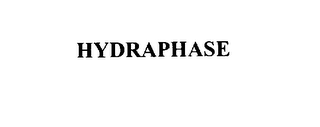 mark for HYDRAPHASE, trademark #75798458