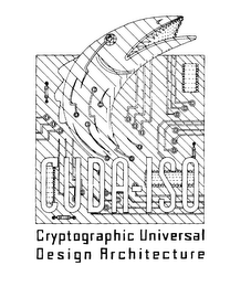 mark for CUDA-IS0 CRYPTOGRAPHIC UNIVERSAL DESIGN ARCHITECTURE, trademark #75799009