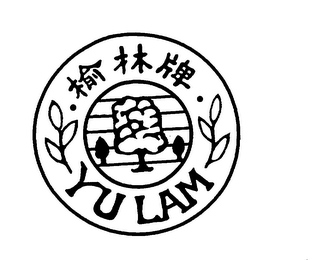 mark for YU LAM, trademark #75802943